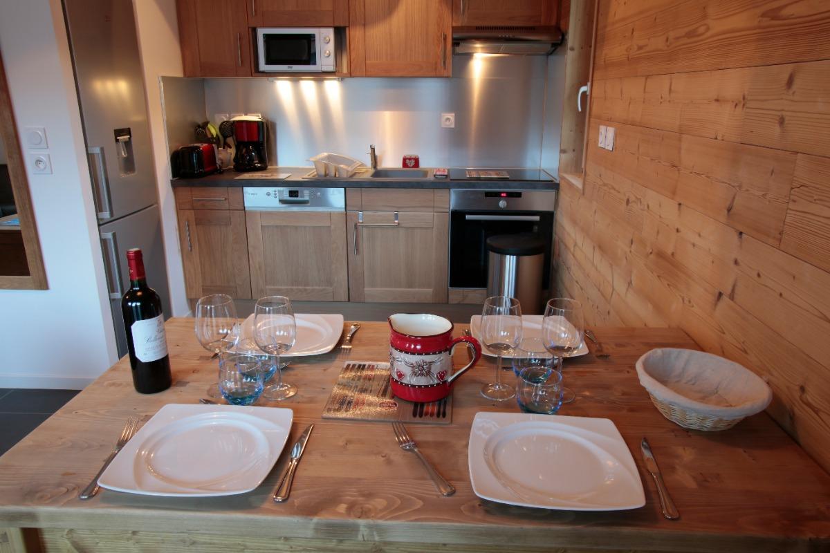 Cuisine / salle à manger - Location de vacances - Valloire