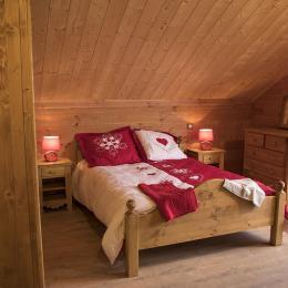 La Toussuire Les Sybelles - Chalet Colette - Appartement 10 personnes - chambre avec balcon  - Location de vacances - La Toussuire