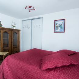 Chambre avec fausse cheminée   - Location de vacances - Valloire