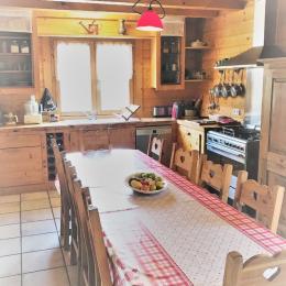Cuisine - Salle à Manger - Location de vacances - Hauteluce