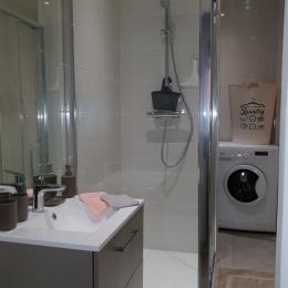 La salle d'eau - Location de vacances - Aix-les-Bains