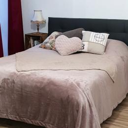 Le lit 2 personnes en 140 - Location de vacances - Aix-les-Bains