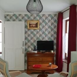Le coin salon - Location de vacances - Aix-les-Bains