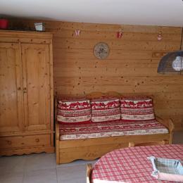 appartement pré villot - pièce principale - Location de vacances - Saint-François-Longchamp