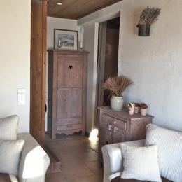 Authentique chalet - Accès chambres - Location de vacances - Saint-François-Longchamp