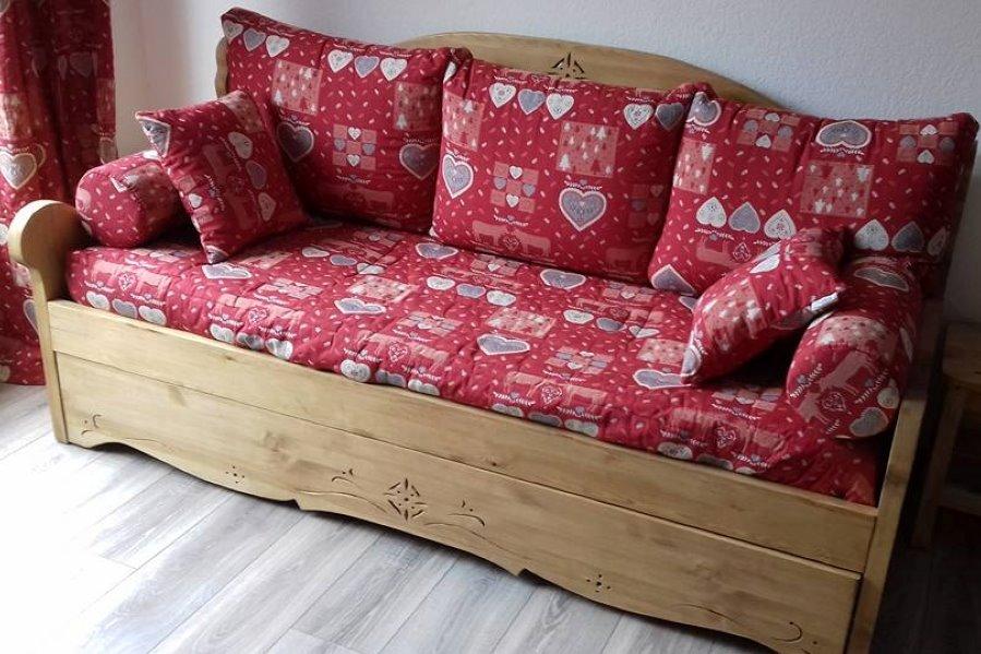 canapé lit en 160 cms - Location de vacances - Valmeinier