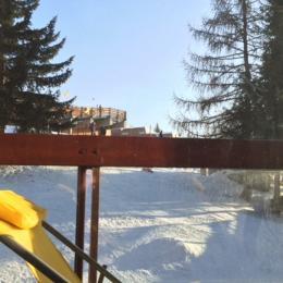 Terrasse donnant sur les pistes et la montagne - Location de vacances - Bourg-Saint-Maurice