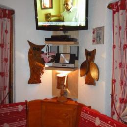 Espace Télé / DVD / Chaine Hifi - Location de vacances - La Giettaz
