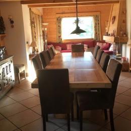 Le salon  - Location de vacances - La Giettaz