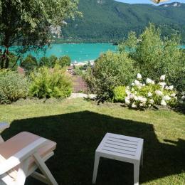 avec vue sur le lac - Location de vacances - Novalaise