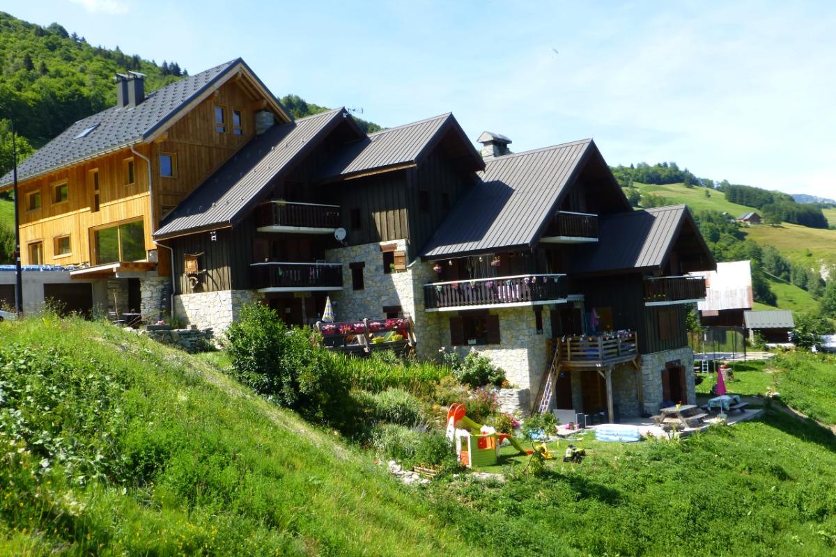 Le chalet Lucie en été - Location de vacances - Valmorel