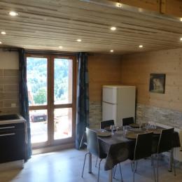 Le coin salon - Location de vacances - Valmorel