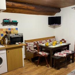 Séjour/Cuisine tout équipé pour votre confort - Location de vacances - Trévignin