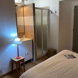 Chambre parentale avec douche - Location de vacances - Trévignin