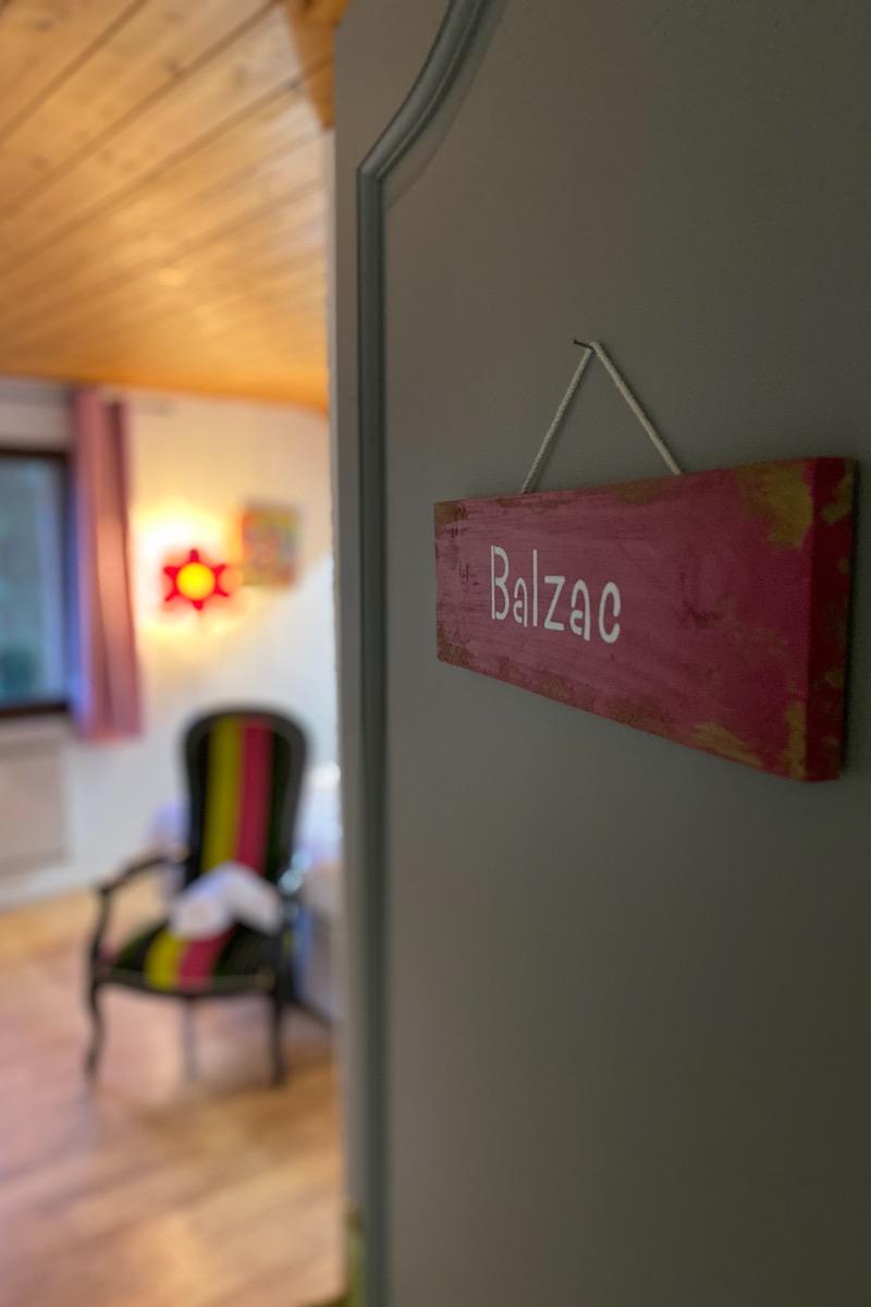 Nouvelles couleurs pour notre chambre Balzac - Chambre d'hôtes - Trévignin