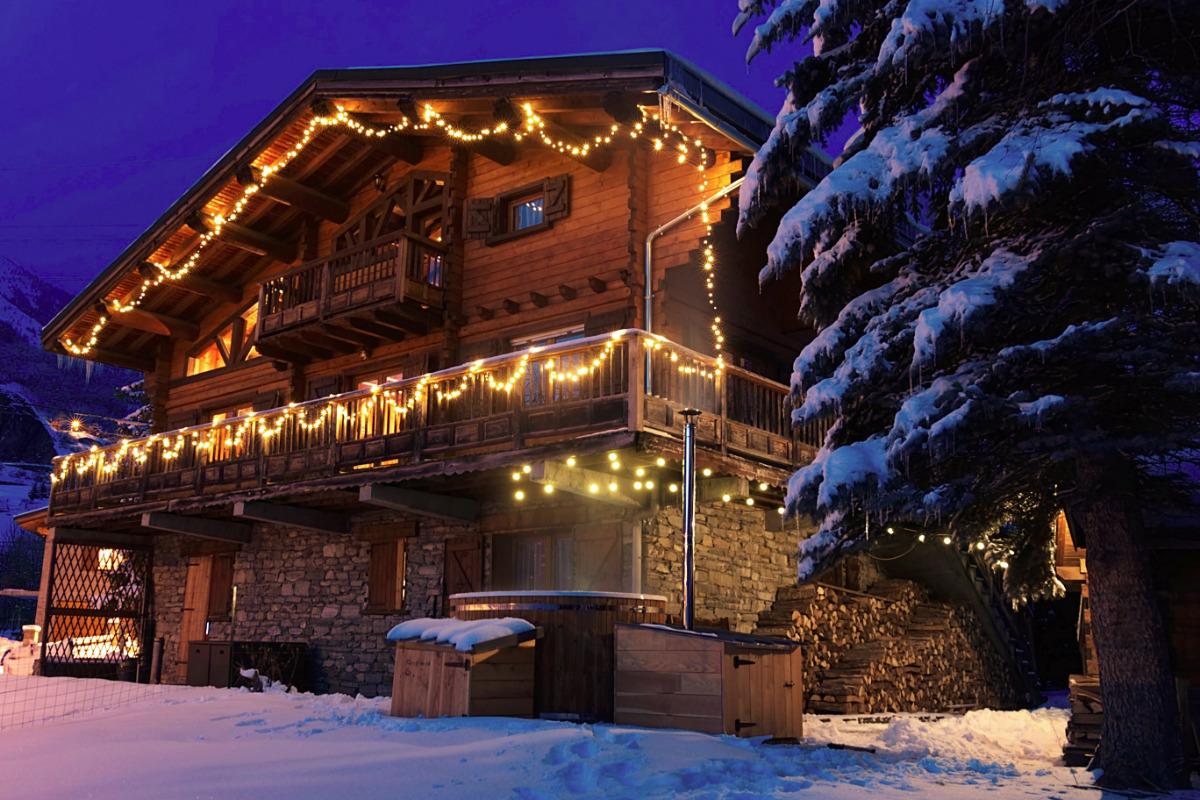 Le chalet en hiver - Location de vacances - Séez