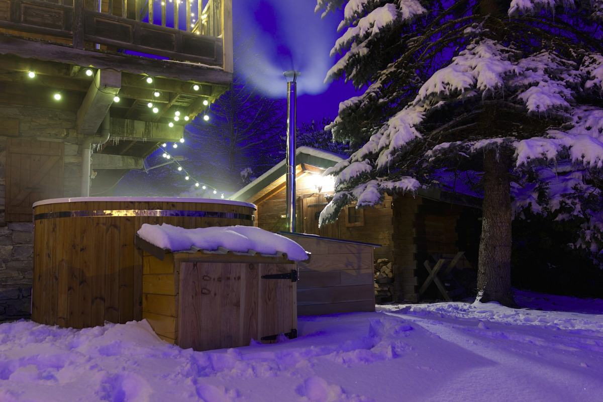 Jacuzzi & sauna - Location de vacances - Séez
