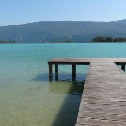 Le ponton - Location de vacances - Lépin-le-Lac