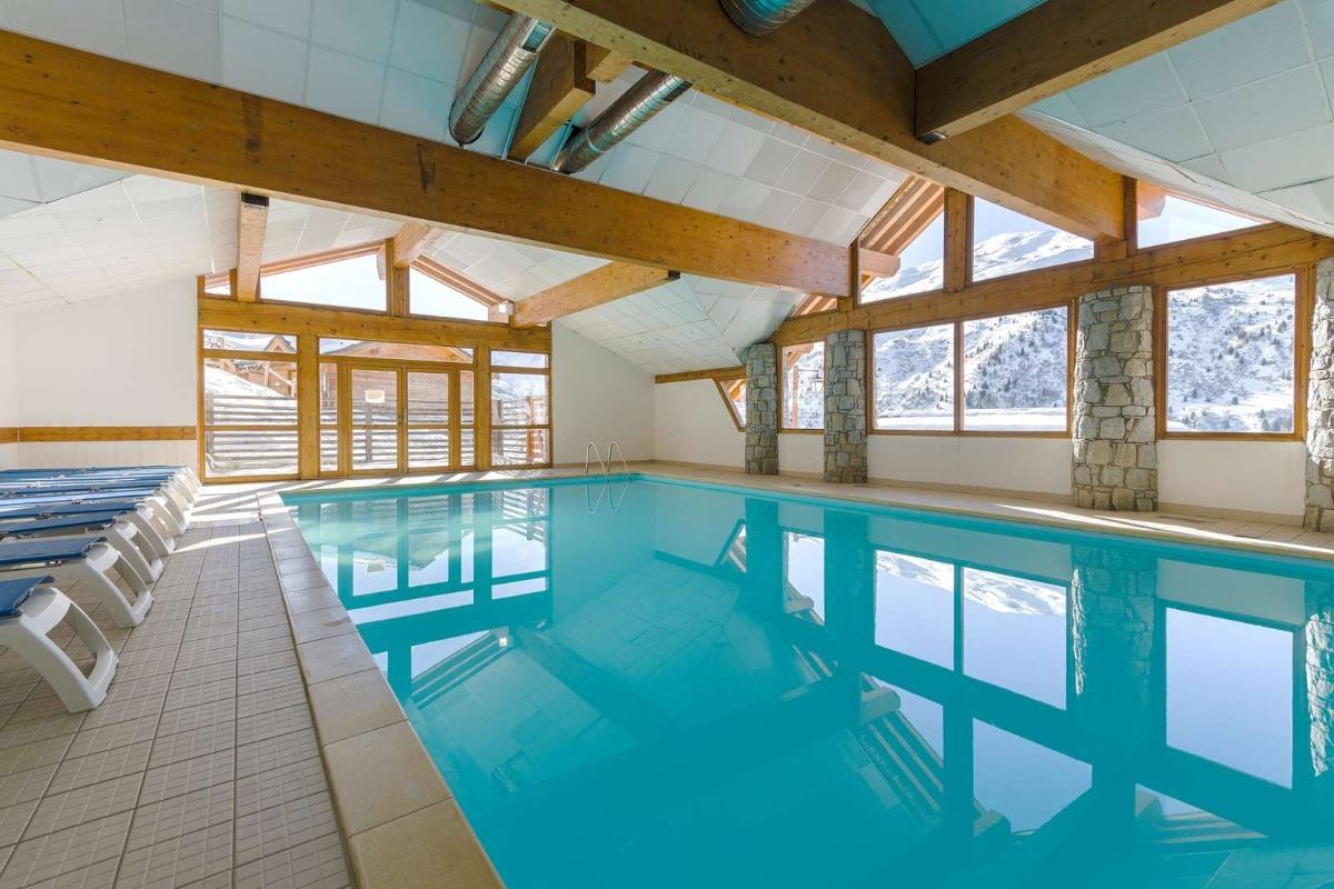 salon et cuisine  - Location de vacances - Valmeinier