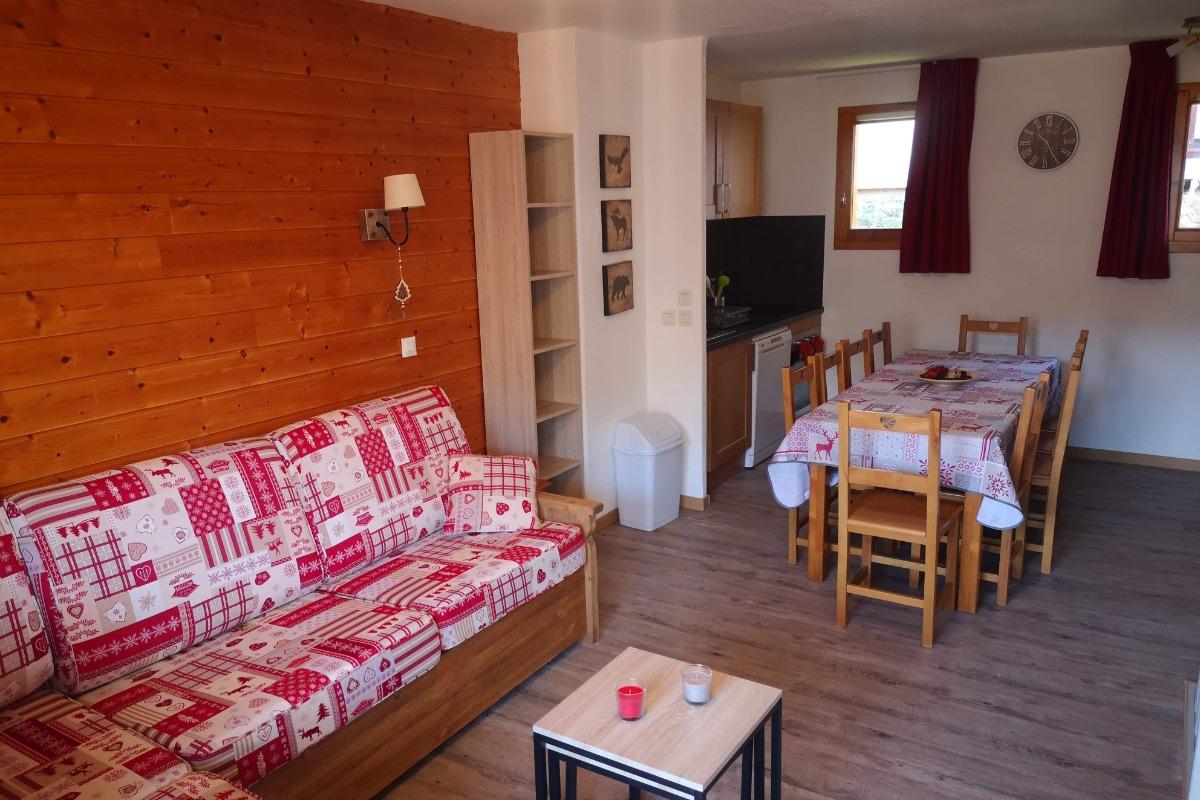 Chambre 2 étage.   - Location de vacances - Valmeinier
