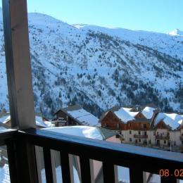 Vue du balcon - Location de vacances - Valmeinier