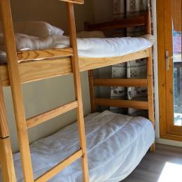 Chambre avec lits superposés. - Location de vacances - Valmeinier