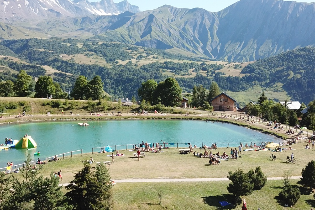 Terrasse - Chalet Hygge - Albiez - Location de vacances - Albiez-Montrond