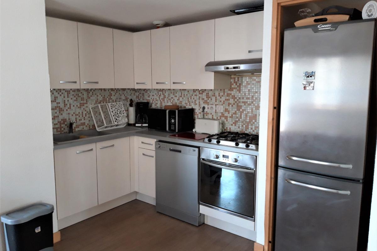 Cuisine - Nid Douillet - Albiez - Location de vacances - Albiez-Montrond
