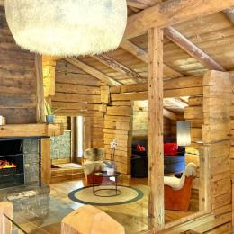 Cuisine équipée (plaque induction, four, four micro-ondes, congélateur, raclettes, fondues, grill) - Location de vacances - La Giettaz