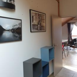 Salon cuisine - Location de vacances - Valloire