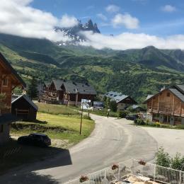 Vue du balcon - Location de vacances - Albiez-Montrond
