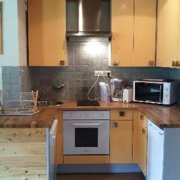Studio cabine à Valmorel - coin cuisine - Location de vacances - Valmorel