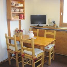 Appartement Valmorel - Pièce de vie - Location de vacances - Valmorel