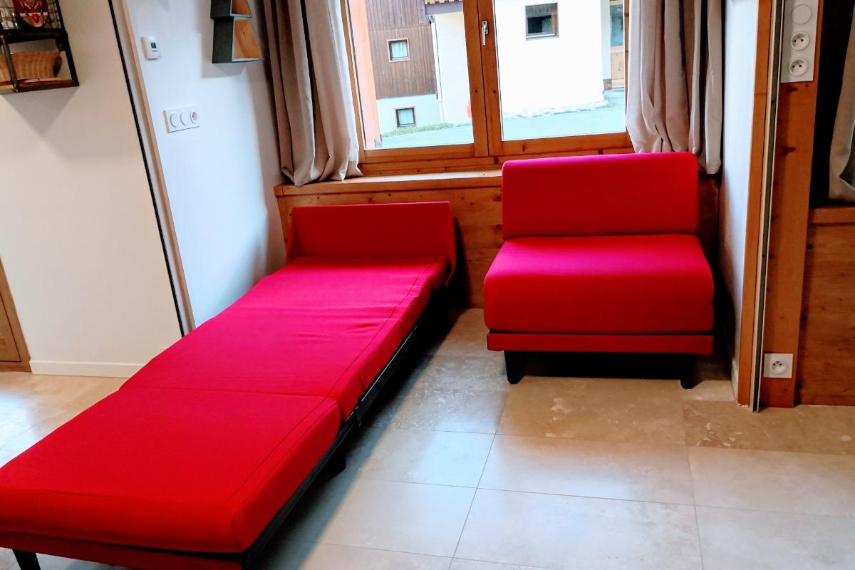 séjour salon - Location de vacances - Valmorel
