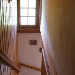 Appartement Valmorel - Escalier - Location de vacances - Valmorel