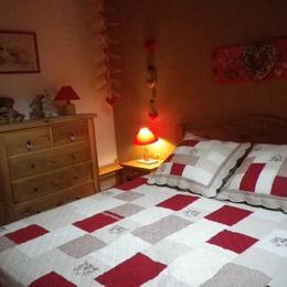 Appartement Valmorel - Chambre indépendante lit 160x200 - Location de vacances - Valmorel
