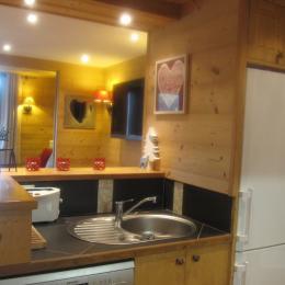 la salle à manger (et la cabine de jour) - Location de vacances - Valmorel