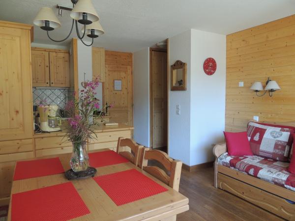 Appartement Valmorel - coin repas - Location de vacances - Valmorel