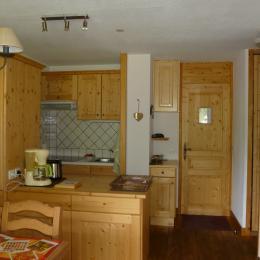 Appartement Valmorel - vue du balcon - Location de vacances - Valmorel