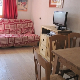 Appartement Valmorel - Pièce de vie - Location de vacances -