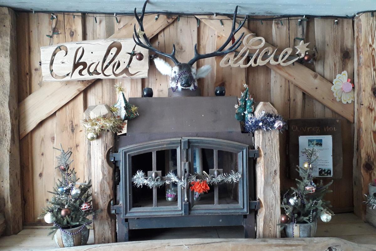 le chalet en hiver - Location de vacances - Valmorel