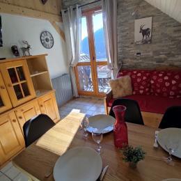 Location appartement Valmorel - pièce de vie - Location de vacances - Valmorel