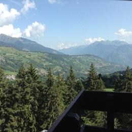 vue l'été - Location de vacances - Valmorel