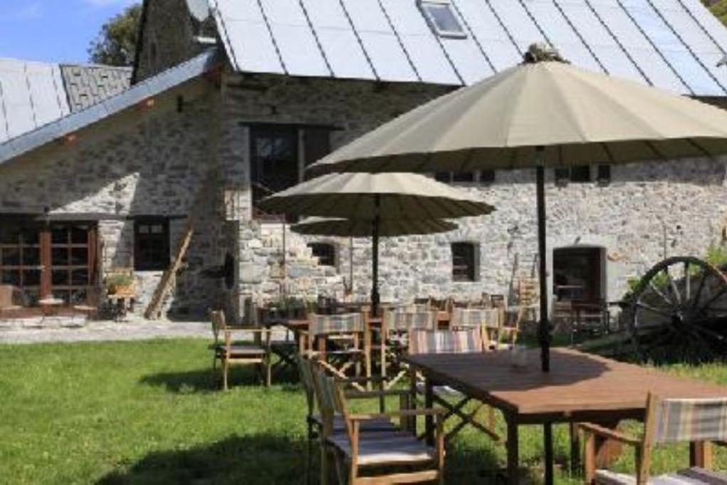 Terasse et jardin - Location de vacances - Valloire