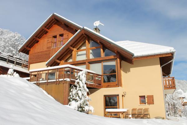 appartement en chalet avec grande terrasse au sud - Location de vacances - Valloire