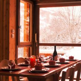 Grande terrasse exposition SUD  sans vis à vis ! - Location de vacances - Valloire
