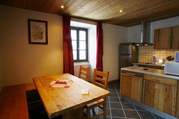 Coin cuisine et repas - Location de vacances - Valloire