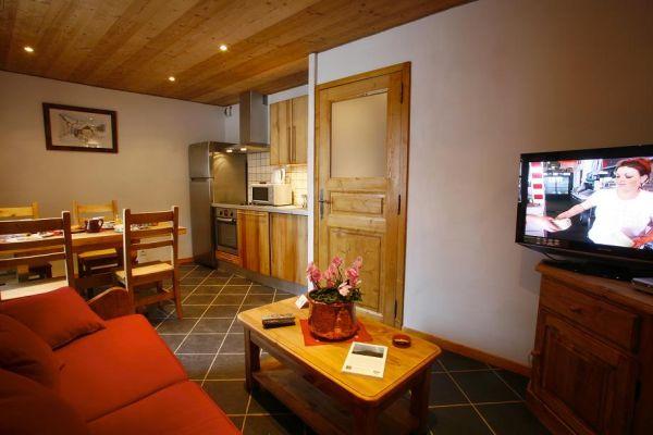 Location appartement à Valloire pied des pistes  - Séjour - Location de vacances - Valloire