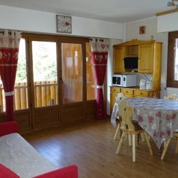 Vue d'ensemble Séjour-salon - Location de vacances - Valloire