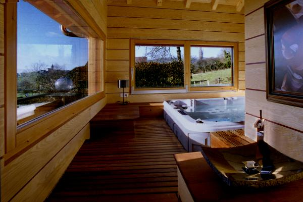 Spa Sauna Une Suite Familiale Raffinee Entre Geneve Et Annecy